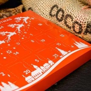 Christmas Advent Calendar Vegan advent calendar | Cenu Cacao , Chocolate Truffles