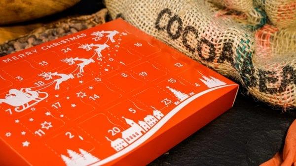 Christmas Advent Calendar Vegan advent calendar   Cenu Cacao , Chocolate Truffles