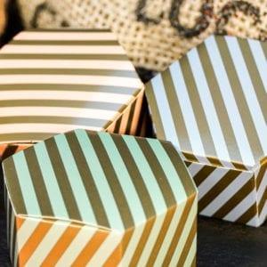 Selection of 6 classic truffles. Classic Truffles, Cenu Cacao, Orange Marmalade