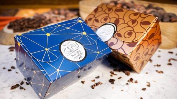 Selection Box Cenu Cacao   Dark chocolate Coffee Nibs
