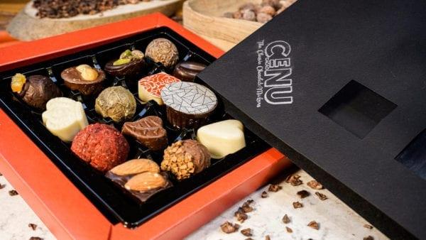 Classic Selection Box, Truffles, Crystallised Ginger